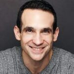 Guest of Harvesting Happiness Talk Radio's new episode about Productivity and well-being with Amy Blankson and Nir Eyal with gray shirt