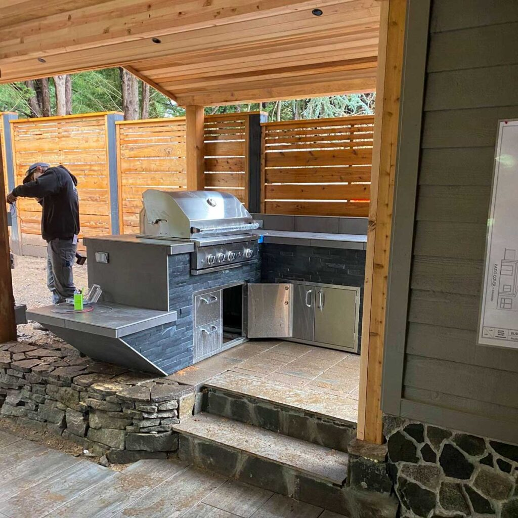 residential outdoor living electrical project