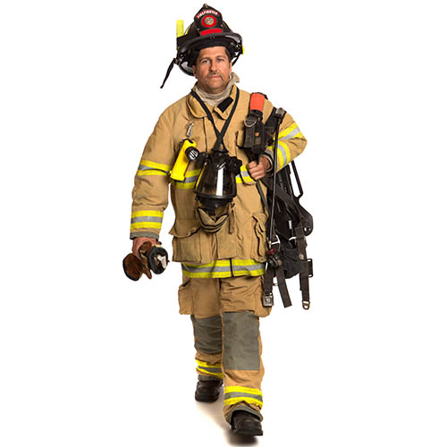 picture of a fire fighter