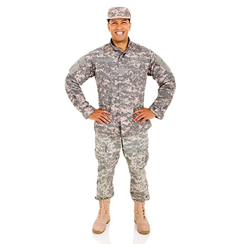 picture of a military man