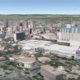 Aerial view of San Antonio