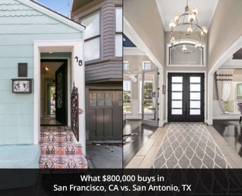 What $800K buys in San Francisco vs. San Antonio