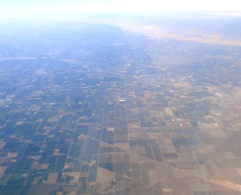 San Joaquin county aerial photo