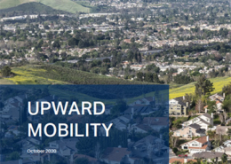 Cover of Urban Reform Institute's Report on Upward Mobility