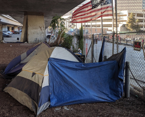 urban homelessness
