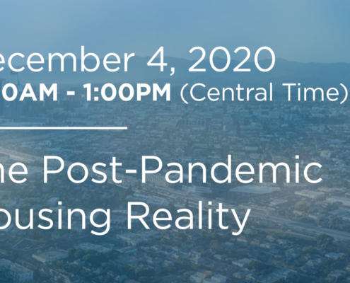 Post-pandemic Housing Reality webinar