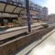 Las Colinas light-rail station in Irving, Texas