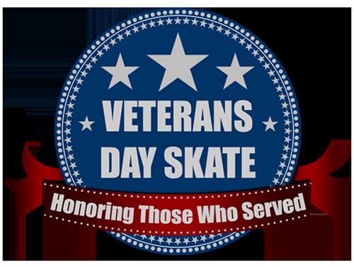 Veterans Day Skate Logo