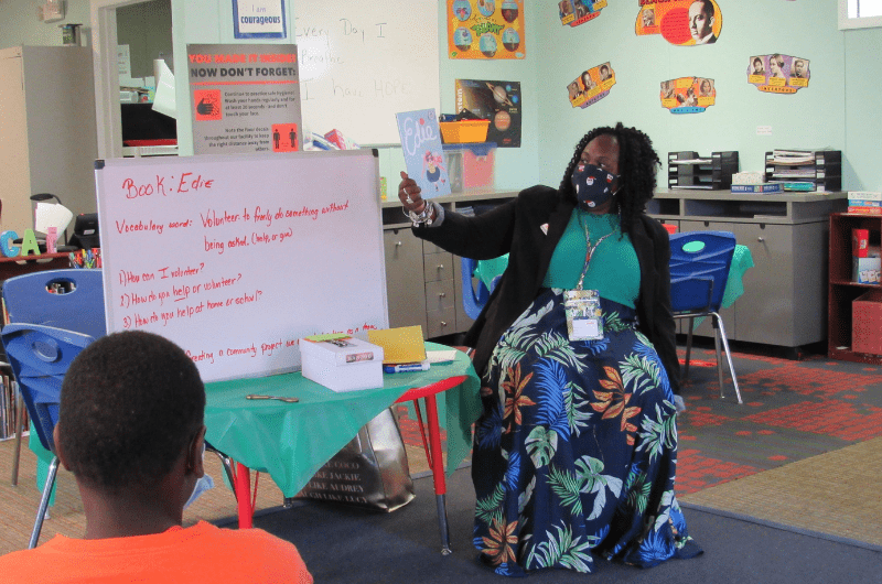 youth learning, ywca program, after school program, literacy, reading, homework, students