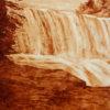 Coffee Art Gooseberry Falls Left