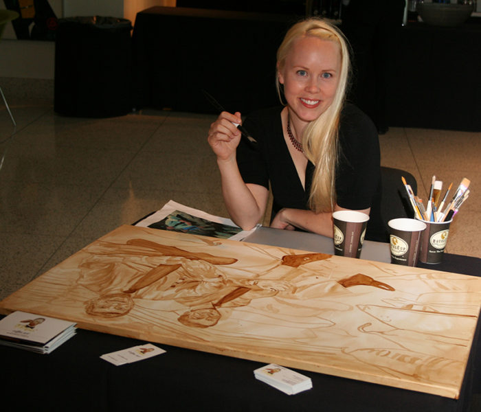Coffee Art - Birmingham Museum of Art Event