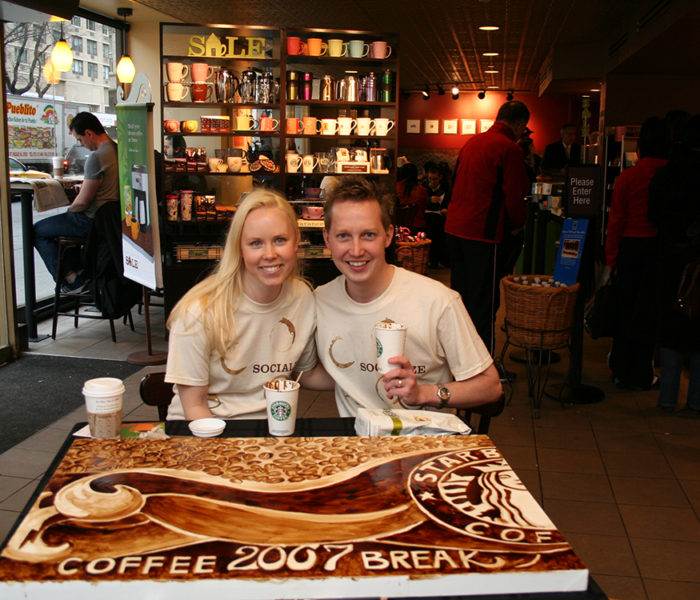 Coffee Art - Starbucks International Coffee Break