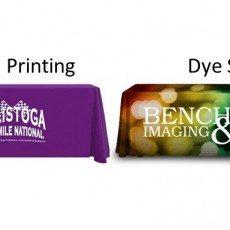 Table Drape Printing Techniques