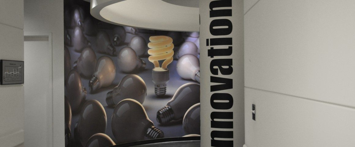 Custom Printed Wallcoverings and Installation