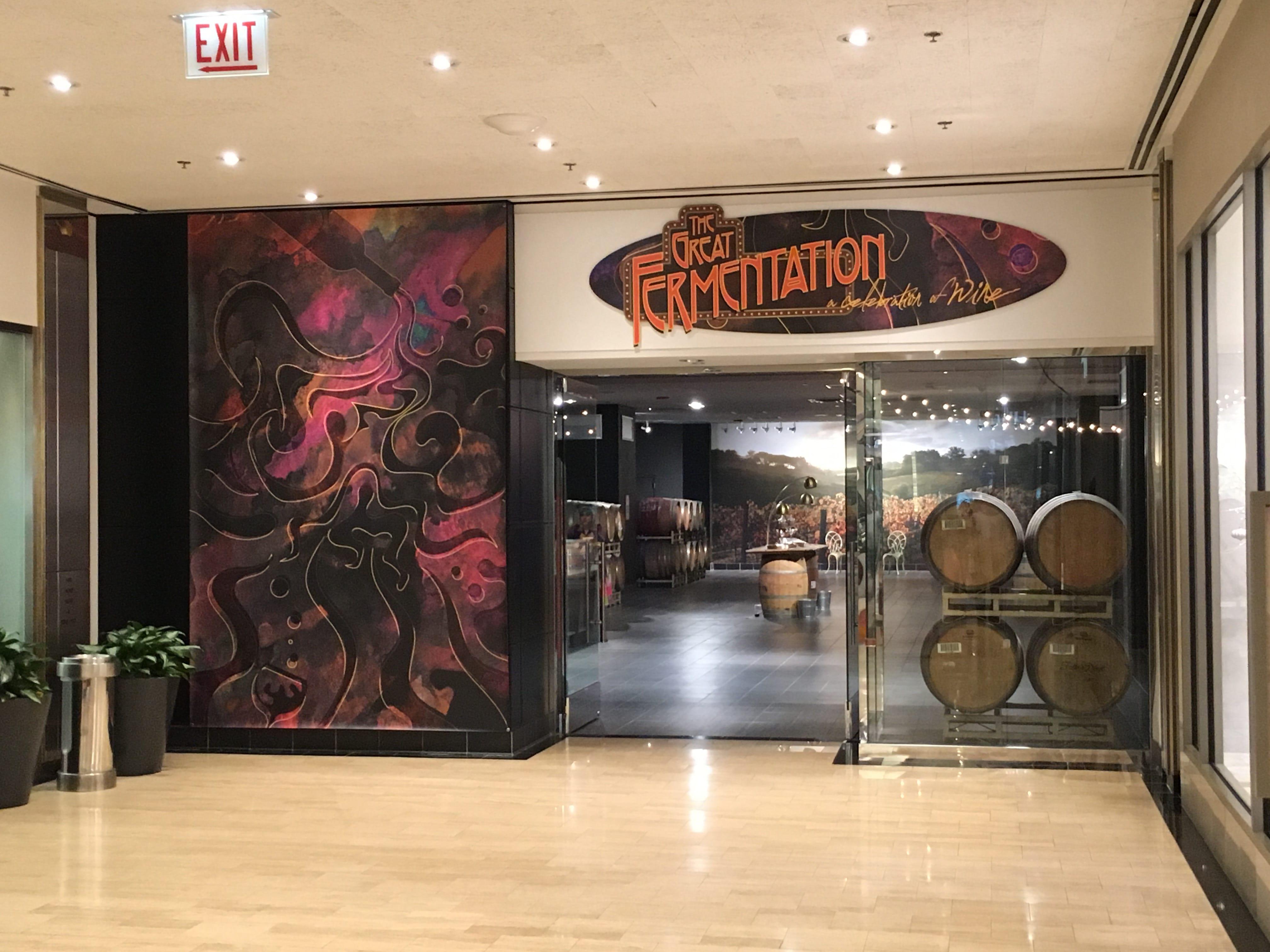 Great Fermentation Oversized Sintra Board Sign