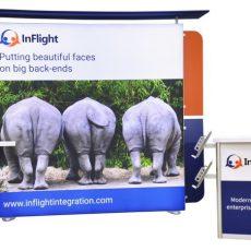 Inflight's Custom 10ft x 10ft Booth