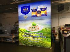 Golden Foods Backlit Pop Up in our Shop