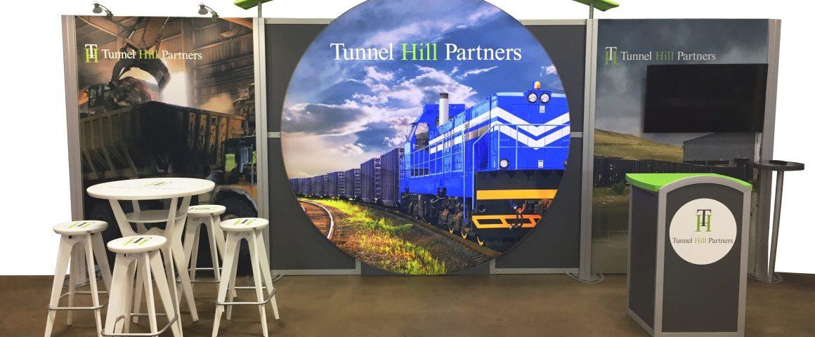 Tunnel Hill's Custom 10x20 Booth