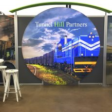 Tunnel Hill's Custom 10×20 Booth