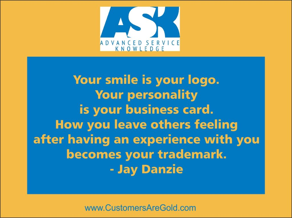 Smile is your logo