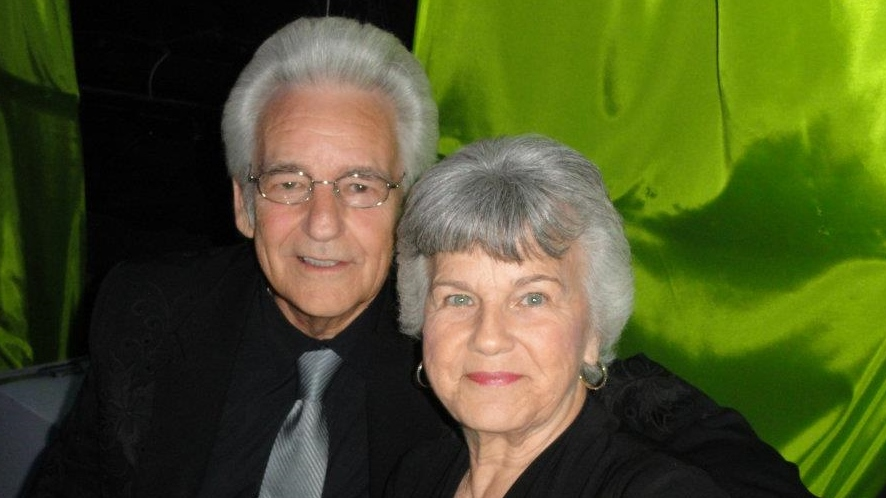 Del & Jean McCoury the Founders of the DelFest Foundation