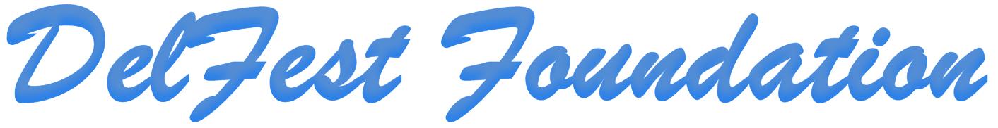 DelFest Foundation Logo