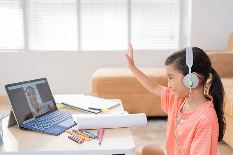 Virtual Instruction Isn't Getting High Marks From Parents, But Many Still Prefer It