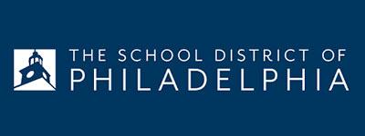 The school district of Philadelphia logo