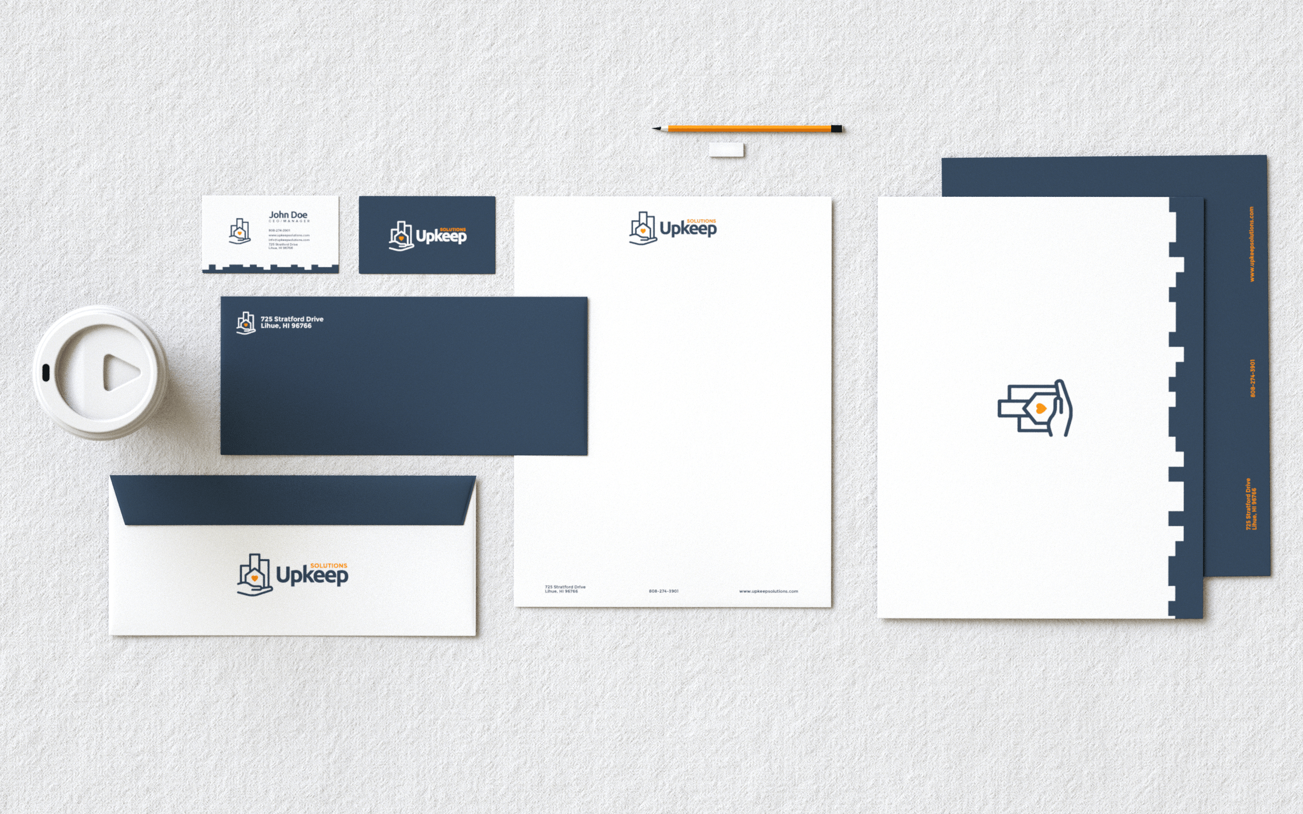 Upkeep Solutions Identity Package