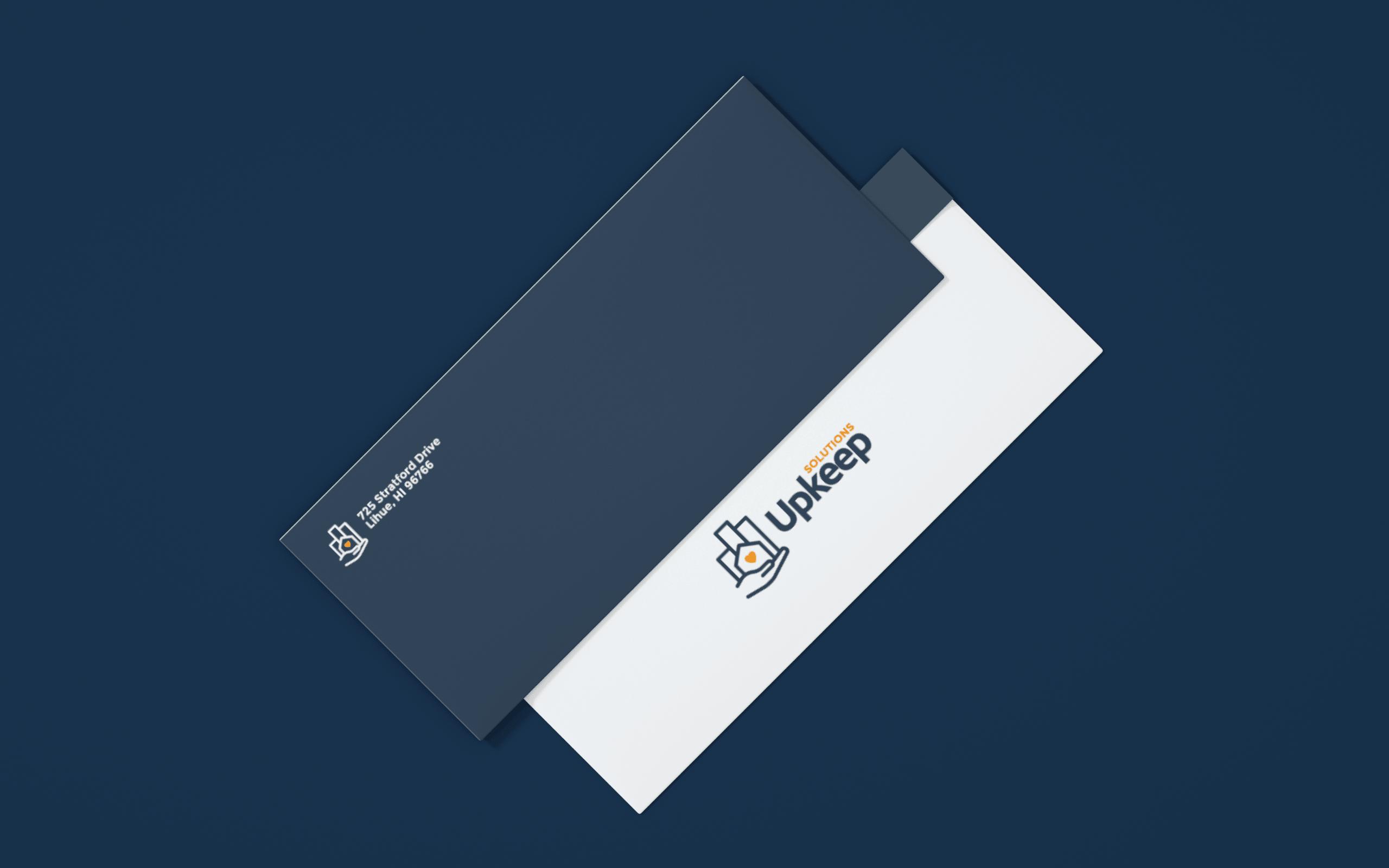 UpKeep Envelope Design