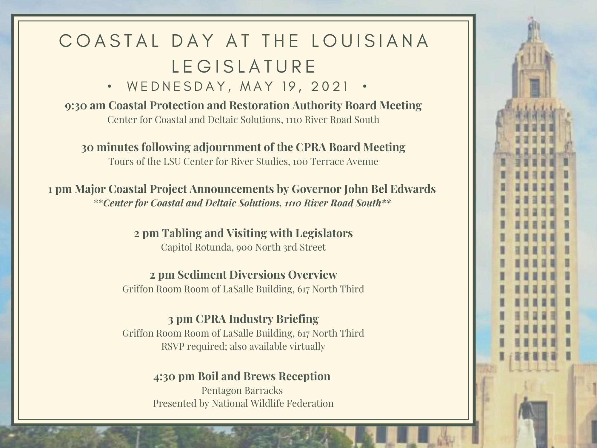 Coastal Day at the LA Legislature