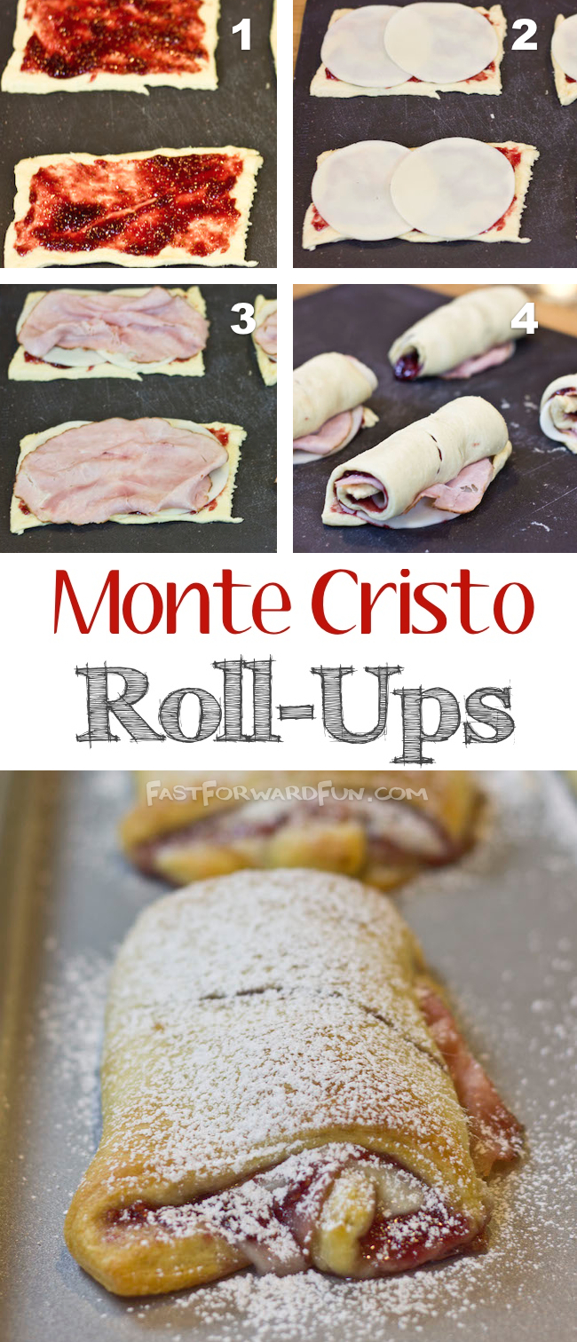 Easy Monte Cristo Recipe! (super fun video tutorial and step-by-step photos) | Fast Forward Fun