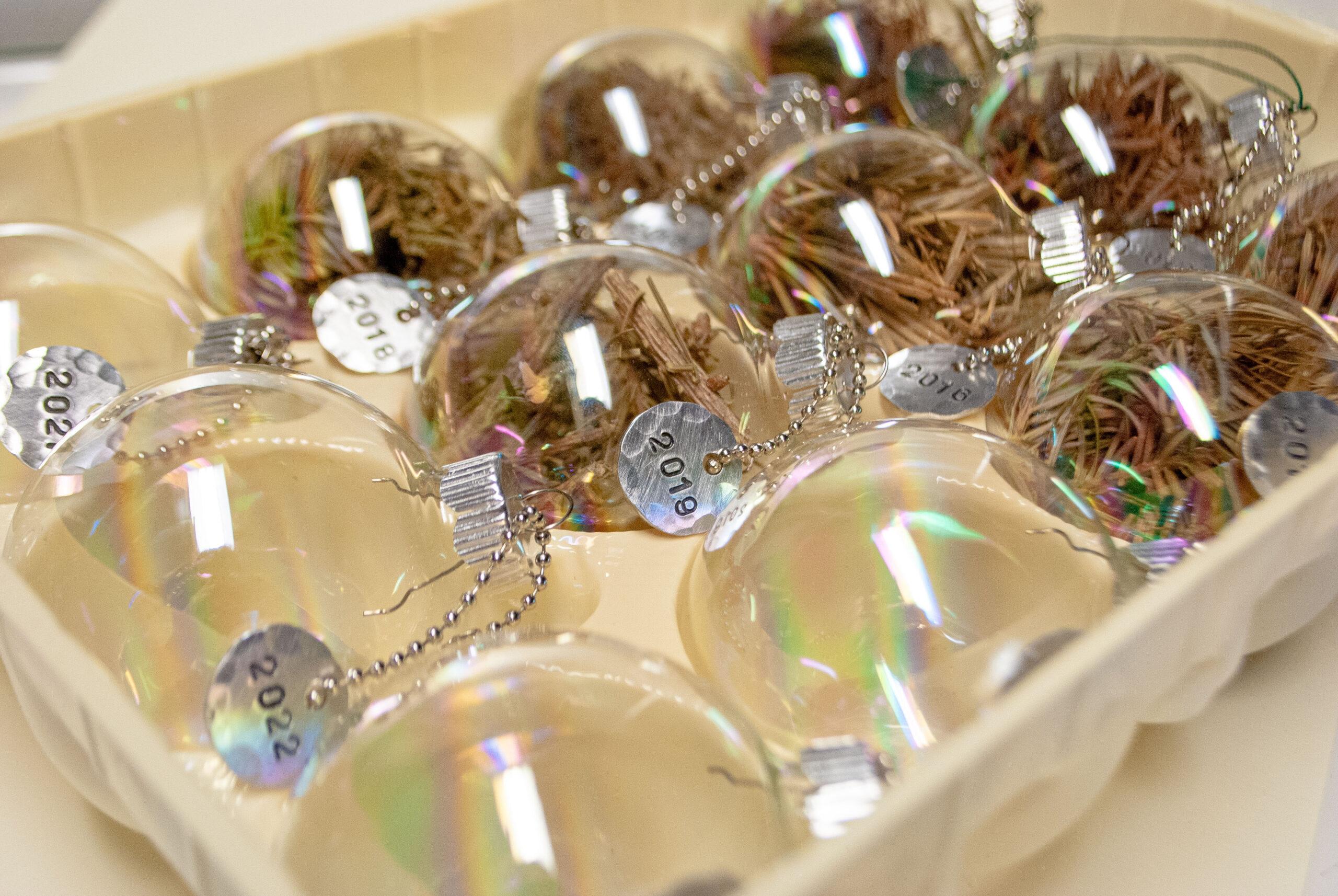 DIY Heirloom Christmas Ornaments