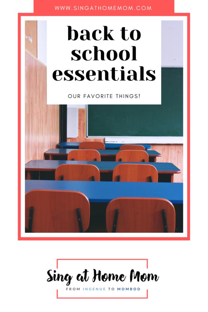 classroom back to school essentials list