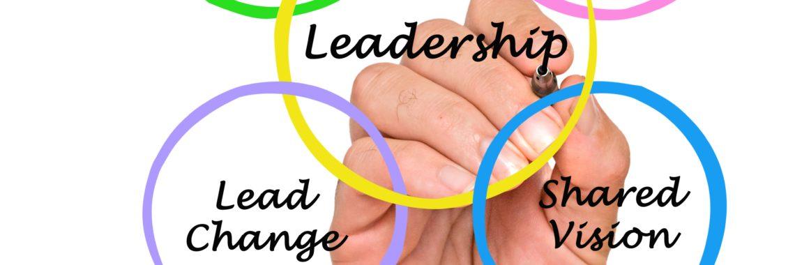 Leadership intersecting circles