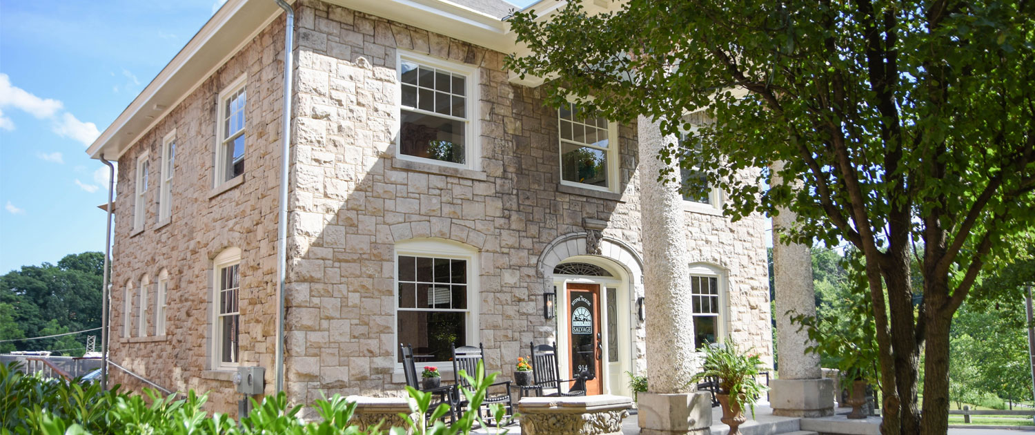 The Stone House, Black Dog Salvage's new rental property