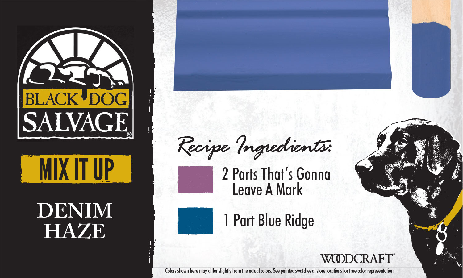 """""""Denim Haze"""" is made from 2 Parts """"That's Gonna Leave A Mark"""" and 1 Part """"Blue Ridge"""""""