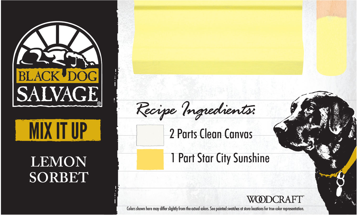 """""""Lemon Sorbet"""" is made from 2 Parts """"Clean Canvas"""" 1 Part """"Star City Sunshine"""""""