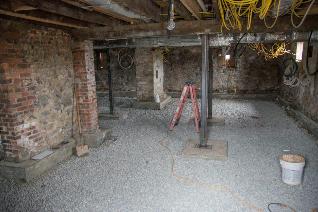 Black Dog Salvage renovates the Stone House