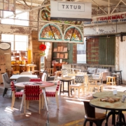 Txture Furniture Gallery located inside Black Dog Salvage