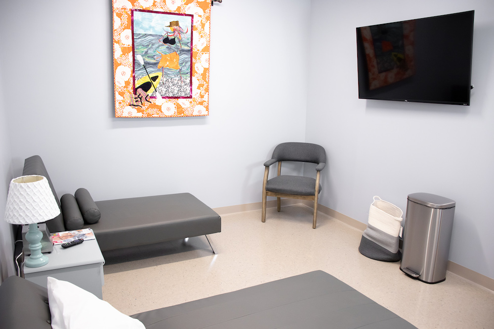 Charleston Birth Place exam room