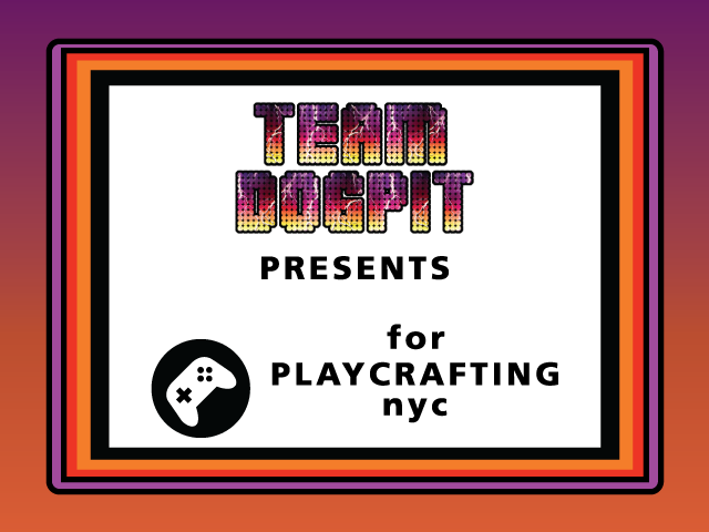 Slam Fighter II at the Playcrafting Expo at NYC