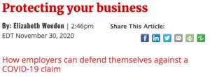 Beth Weeden Byline in Smart Business