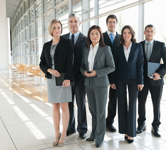 Diverse group of businesspeople
