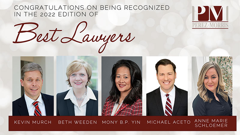 Perez Morris Best Lawyers in America picture of attorneys