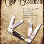 Tuna Valley Cutlery Gallery - 2010 Cigar Stockman - Burnt Stag