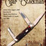 Tuna Valley Cutlery Gallery - 2010 Cigar Stockman - Redbone