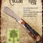 Tuna Valley Cutlery Gallery - 2012 Cotton King - Amber Stag