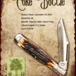 Tuna Valley Cutlery Gallery - 2013 Coke Bottle - Amber Stag