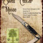 Tuna Valley Cutlery Gallery - 2013 Moose - Burnt Stag